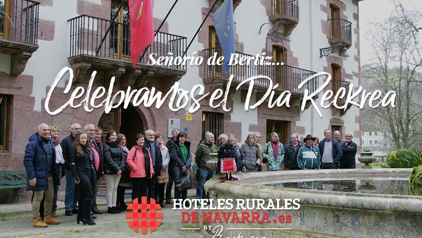 Día nacional de los hoteles rurales en el norte de españa en navarra, celebración de evento en el señorío de bertiz con visita y alojamiento