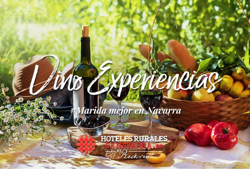 Enoturismo y experiencias y viajes de turismo de vino por España descubre los hoteles de la Ruta del vino de Navarra y sus bodegas con restaurante y fabulosas experiencias de turismo rural